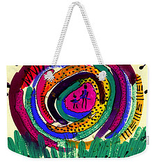 Our Own Colorful World I Weekender Tote Bag by Angela L Walker
