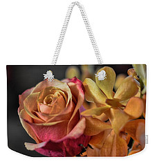 Weekender Tote Bag featuring the photograph Our Passion by Diana Mary Sharpton
