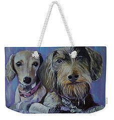 Our Pups Weekender Tote Bag