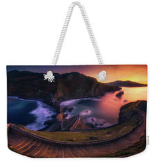 Our Small Wall Of China Weekender Tote Bag