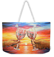 Our Sunset Weekender Tote Bag