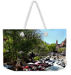 Weekender Tote Bag featuring the photograph Ourika Valley 1 by Andrew Fare