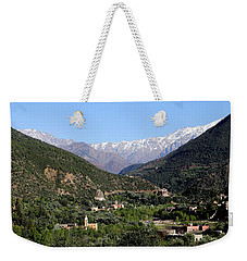 Weekender Tote Bag featuring the photograph Ourika Valley 2 by Andrew Fare