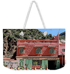 Weekender Tote Bag featuring the photograph Ourika Valley by Andrew Fare