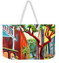 Out And About Weekender Tote Bag by Dorothy Allston Rogers