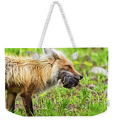 Out Foxed Weekender Tote Bag