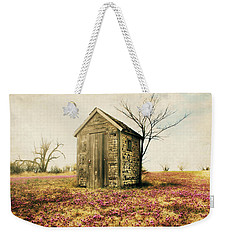 Outhouse Weekender Tote Bag by Julie Hamilton