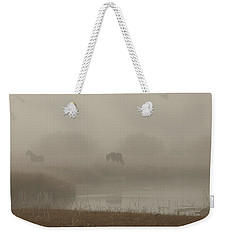 Out In The Fog Weekender Tote Bag