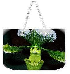 Weekender Tote Bag featuring the photograph Out Of Darkness by Randy Rosenberger