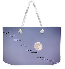 Out Of Sync Weekender Tote Bag by Janice Rae Pariza