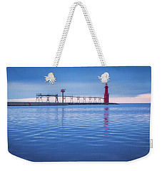 Weekender Tote Bag featuring the photograph Out Of The Blue by Bill Pevlor