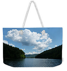 Out Of The Cove Weekender Tote Bag by Donald C Morgan