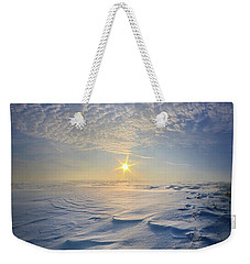 Weekender Tote Bag featuring the photograph Out Of The East by Phil Koch