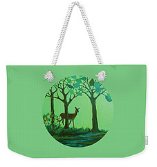 Out Of The Forest Weekender Tote Bag by Mary Wolf