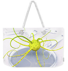 Out Of The Petri Dish... Weekender Tote Bag by Tim Fillingim