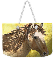 Weekender Tote Bag featuring the painting Out Of The Sun by Carol Grimes