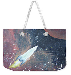 Out Of This World Weekender Tote Bag by Cyrionna The Cyerial Artist