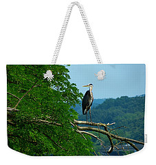 Out On A Limb Weekender Tote Bag by Donald C Morgan