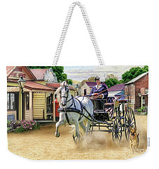 Out On The Town Weekender Tote Bag