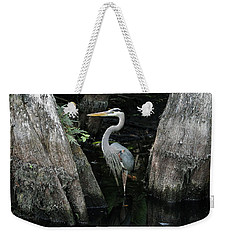 Out Standing In The Swamp Weekender Tote Bag