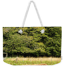 Weekender Tote Bag featuring the photograph Out To Pasture by Christi Kraft