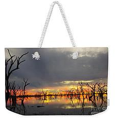 Outback Sunset Weekender Tote Bag