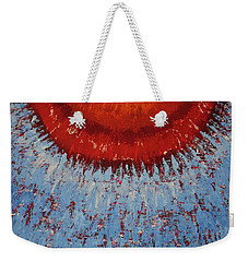 Outburst Original Painting Weekender Tote Bag
