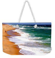 Outer Banks Beach North Carolina Weekender Tote Bag