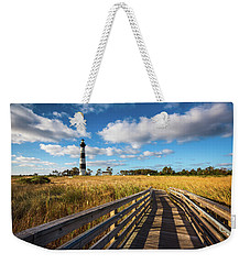 Outer Banks Nc Bodie Island Lighthouse Scenic Landscape Weekender Tote Bag