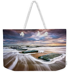 Outer Banks North Carolina Beach Sunrise Seascape Photography Obx Nags Head Nc Weekender Tote Bag