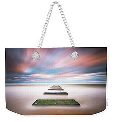Outer Banks North Carolina Seascape Nags Head Nc Weekender Tote Bag