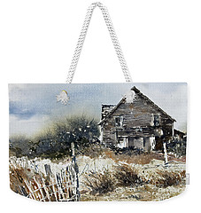 Outer Banks Shack Weekender Tote Bag