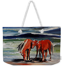 Outer Banks Wild Horses Weekender Tote Bag