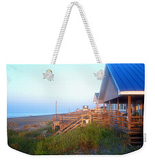 Weekender Tote Bag featuring the photograph Outerbanks Sunrise At The Beach by Sandi OReilly