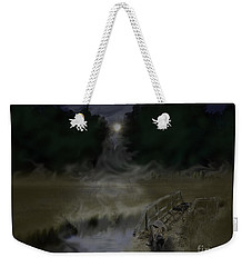 Outfoxed By The Moon Weekender Tote Bag