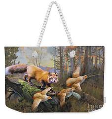 Outfoxed Weekender Tote Bag