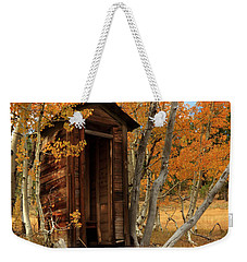Outhouse In The Aspens Weekender Tote Bag