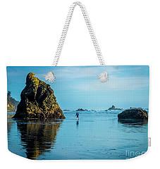 Outing In Ruby Beach,wa Weekender Tote Bag