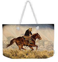 Outlaw Kelly Western Art By Kaylyn Franks Weekender Tote Bag