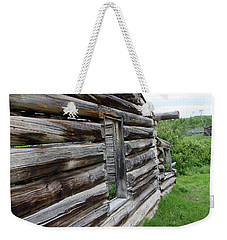 Outside Cabin Window Weekender Tote Bag