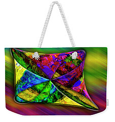 Weekender Tote Bag featuring the photograph Outside In by Paul Wear