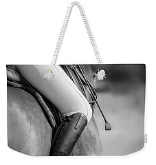 Outside Leg Weekender Tote Bag