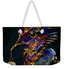 Outside Of Time Weekender Tote Bag