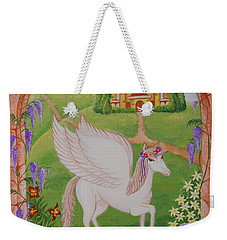 Outside The Window Weekender Tote Bag