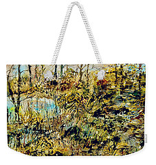 Outside Trodden Paths Weekender Tote Bag