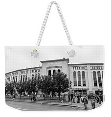 Outside Yankee Stadium  Weekender Tote Bag
