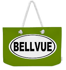 Weekender Tote Bag featuring the photograph Oval Bellvue Colorado Home Pride by Keith Webber Jr