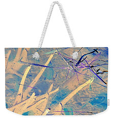 Over And Above Weekender Tote Bag