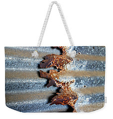 Weekender Tote Bag featuring the photograph Over And Above by Stephen Mitchell