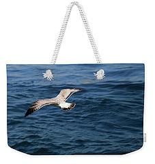 Over Blue Water Weekender Tote Bag